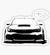 Pegatina Subaru WRX STi