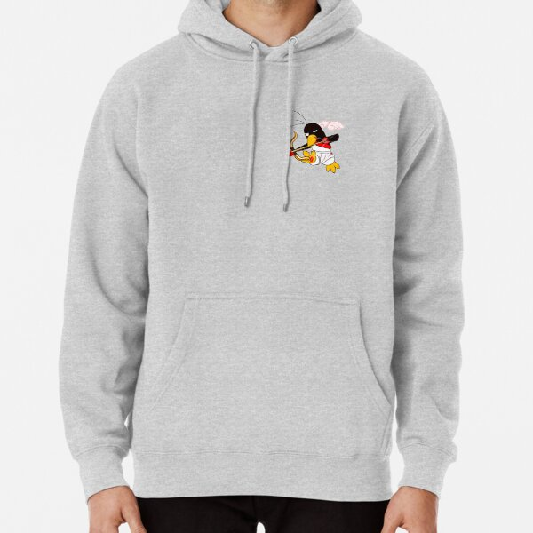 Hippo the Angel of Love Pullover Hoodie