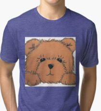 Teddy Bear Tri-blend T-Shirt