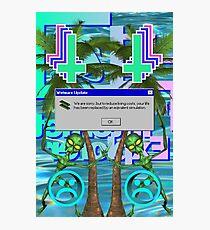 Simulation Photographic Print