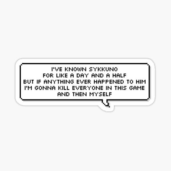 Quotes Corpse Husband Sticker