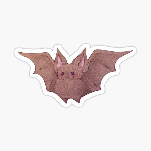 Cute Fluffy Bat Friend  Sticker