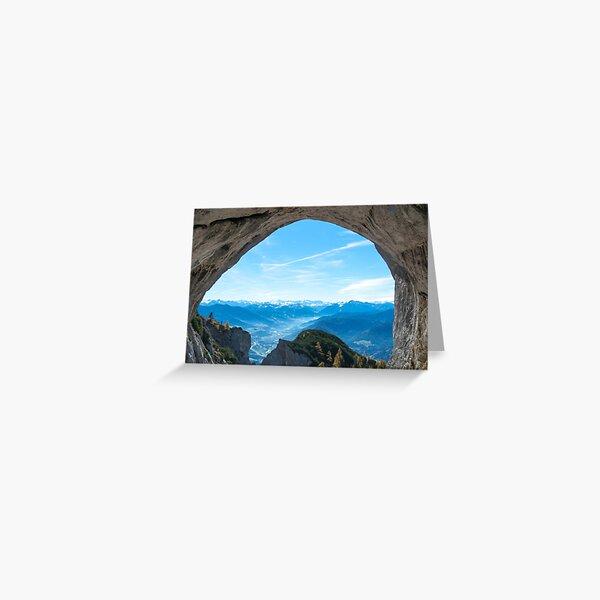 Landscape of Austria - Salzburgerland Greeting Card