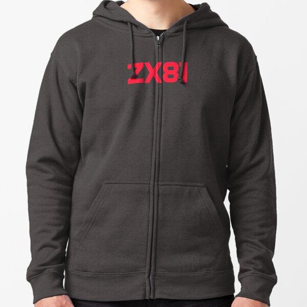 ZX81 Zipped Hoodie