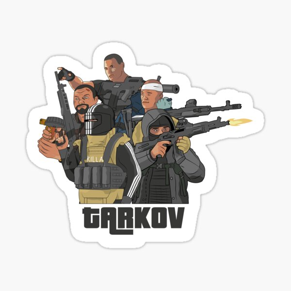 Escape from Tarkov - boss squad Sticker