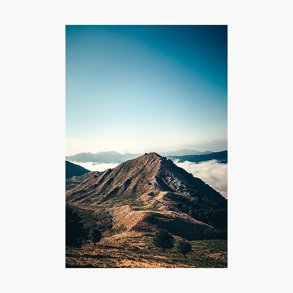 Mountains in the background XXII Photographic Print