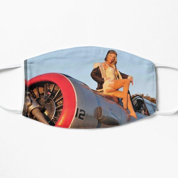 Pin up Girl Airplane Mask