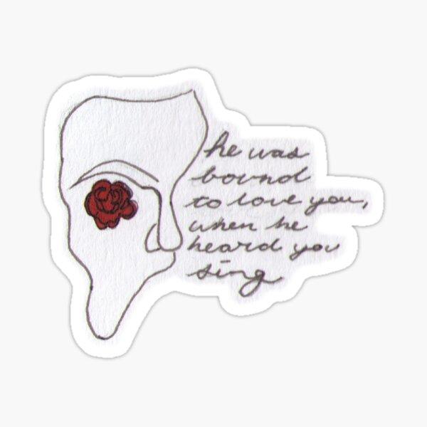 phantom quote Sticker