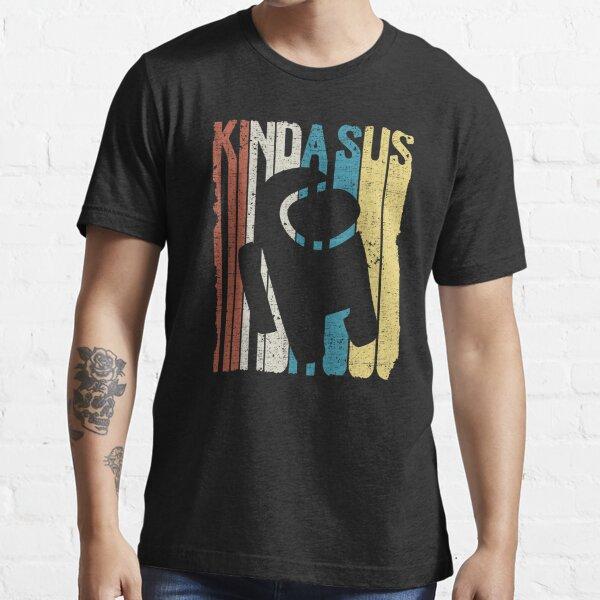 Among Us Kinda Sus Retro Camiseta esencial