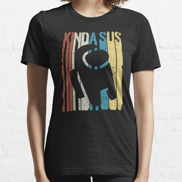 Among Us Kinda Sus Retro Camiseta esencial