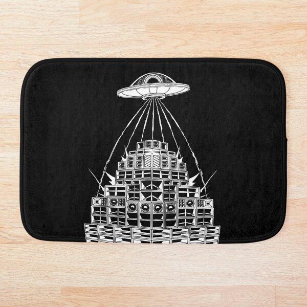 DMT Alien UFO Sound System Bath Mat