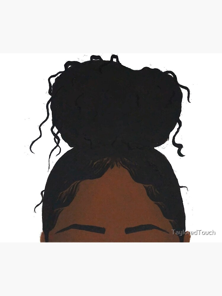 Black girl headshot by TayloredTouch
