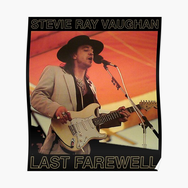 STEVIE RAY VAUGHAN Póster