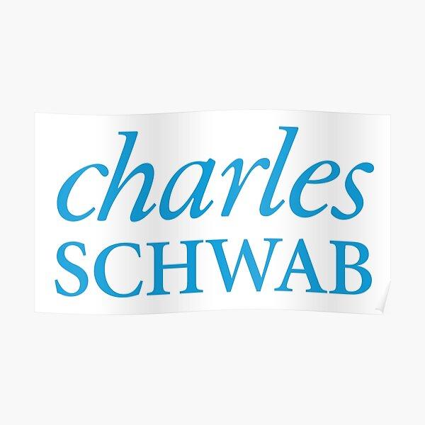 Logotipo de Charles Schwab Póster