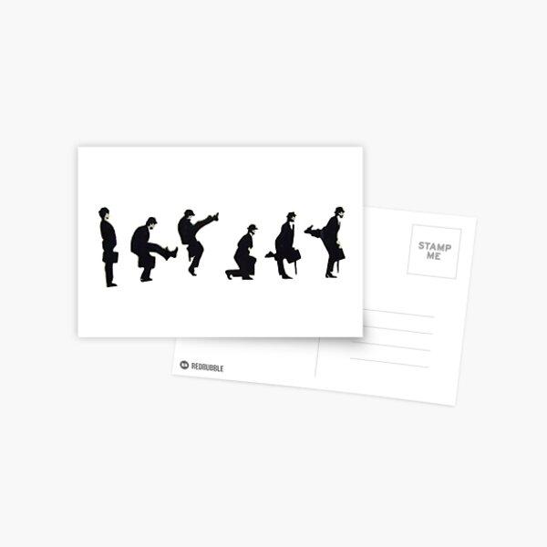 Silly Walk by Banksy Postcard