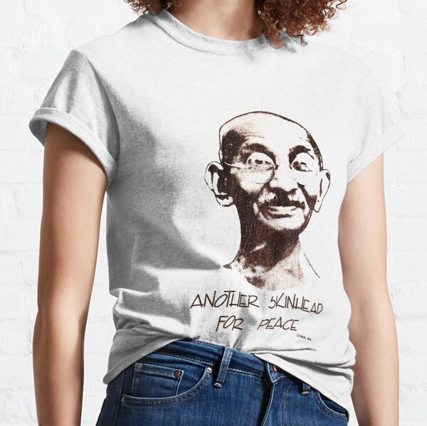 1980's Another Skinhead For Peace T-shirt classique