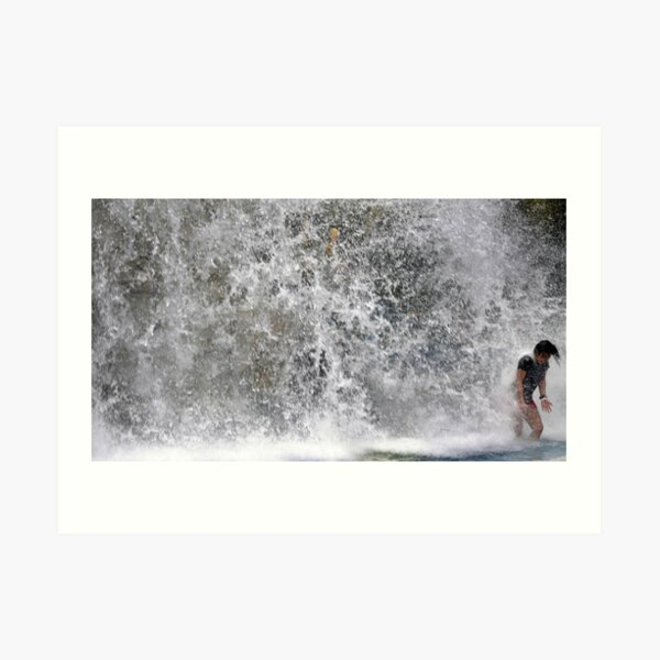 WATER SPLASH  Art Print
