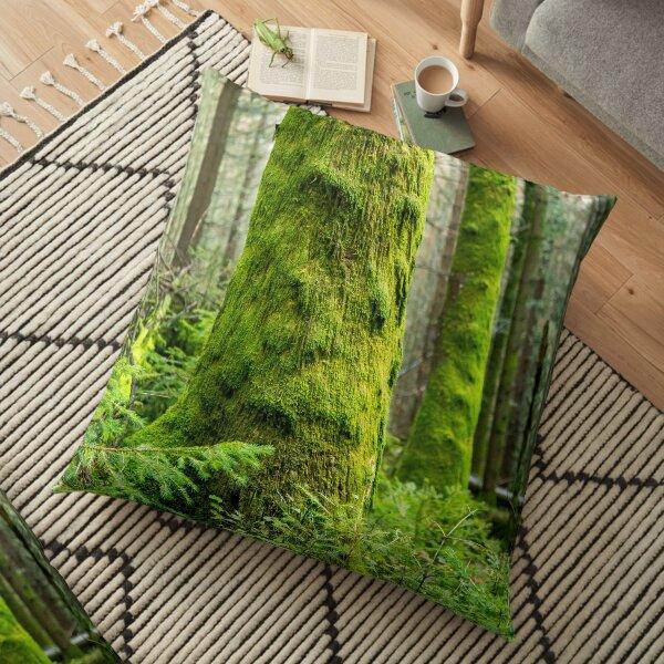 Mossy Trees Floor Pillow