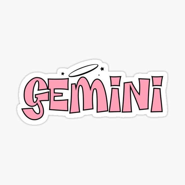 Gemini Bratz Sticker