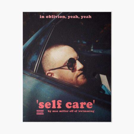 self care miller Art Board Print