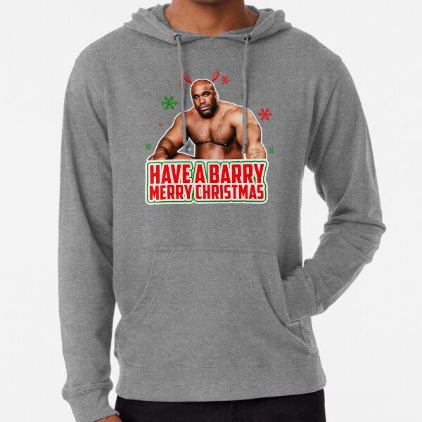 Have A Barry Merry Christmas Barry Wood Meme Well Endowed Man Black Guy Dick Meme Design Lightweight Hoodie