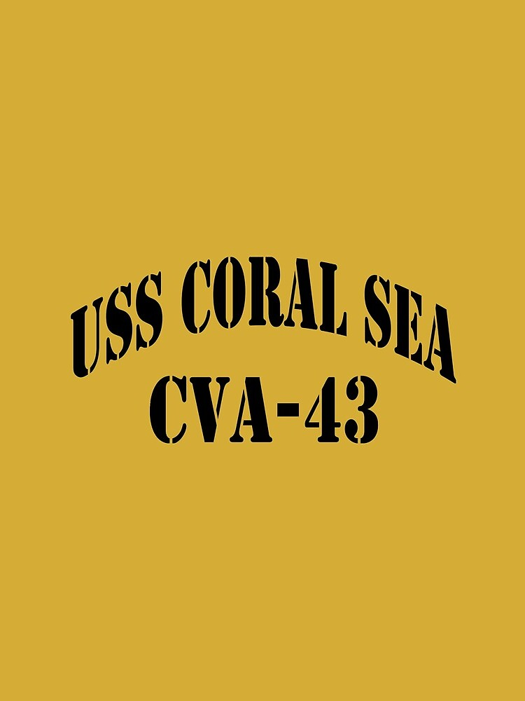 USS CORAL SEA (CVA-43) SHIP'S STORE by militarygifts