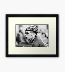 Nairo Quintana (Movistar Team) Framed Print