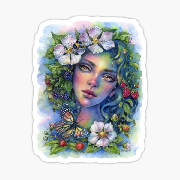 Wildberry Bloom Sticker