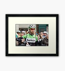 Laurens ten Dam (Belkin Pro Cycling Team) Framed Print