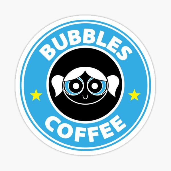 Starbucks style supergirl bubble Sticker