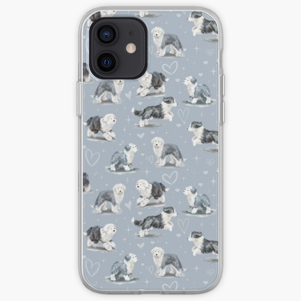 The Old English Sheepdog  iPhone Case & Cover