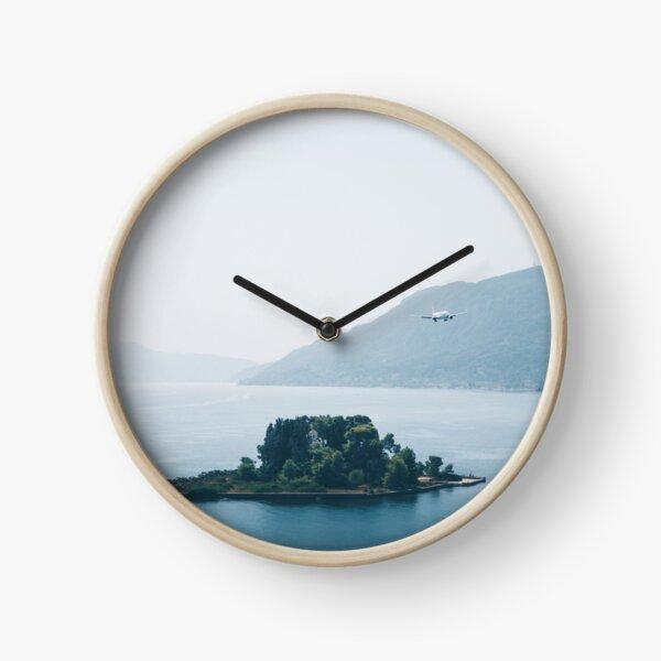 Pontikonisi Island - Greece Clock