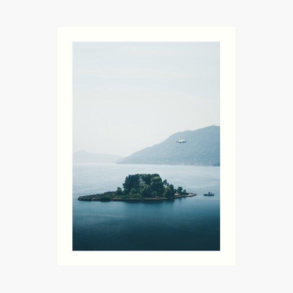 Pontikonisi Island - Greece Art Print