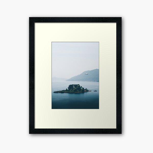 Pontikonisi Island - Greece Framed Art Print