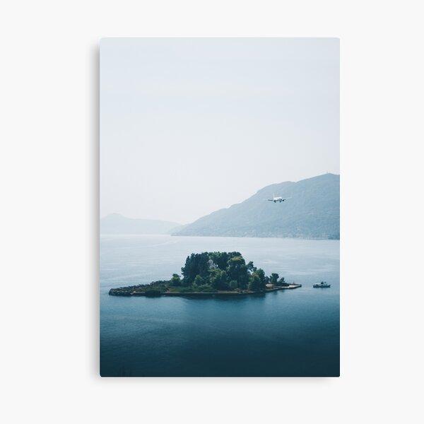 Pontikonisi Island - Greece Canvas Print