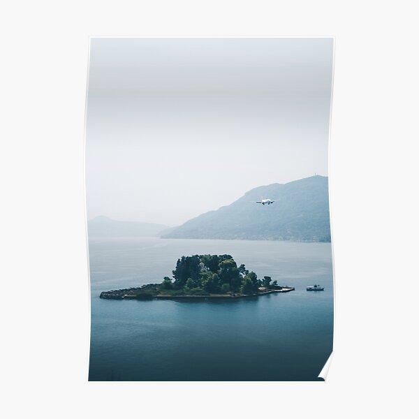 Pontikonisi Island - Greece Poster