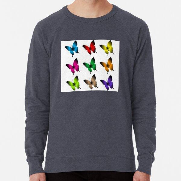 Butterflies Lightweight Sweatshirt