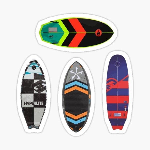 Pack d'autocollants de planche de wakesurf Sticker