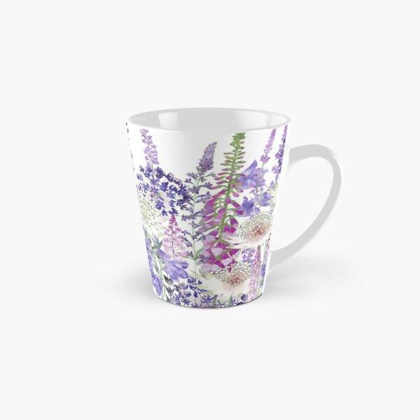 Flower Garden - Astrantia, Campanula, Foxgloves & Alliums Tall Mug