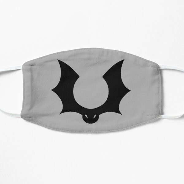 Flying Bat Crest, unicolour Mask