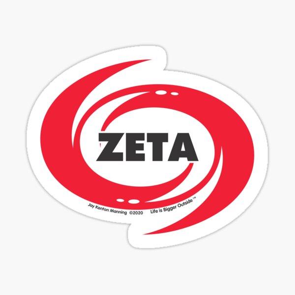 Zeta Hurricane Sticker- Weatherproof! Sticker