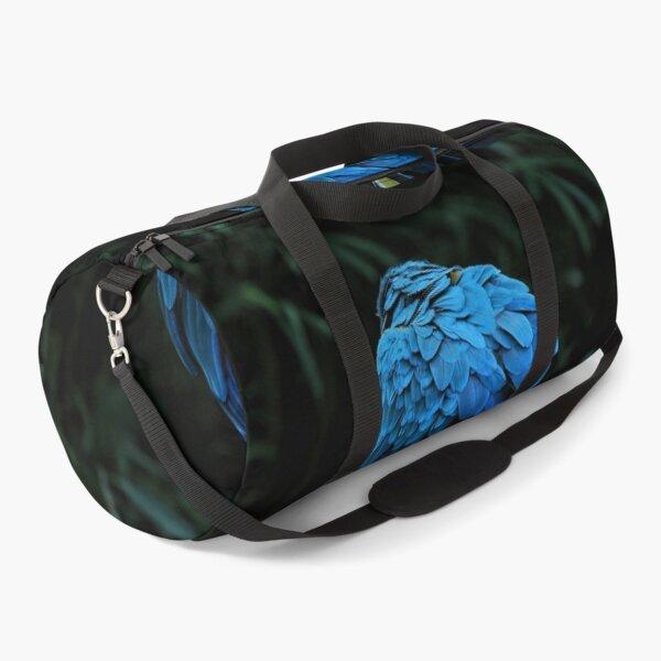 Brazilian Tropical Blue Macaw,  Arara Azul. Duffle Bag
