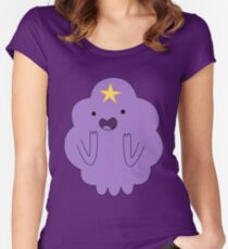 LUMPY SPACE PRINCESS Women's Fitted Scoop T-Shirt