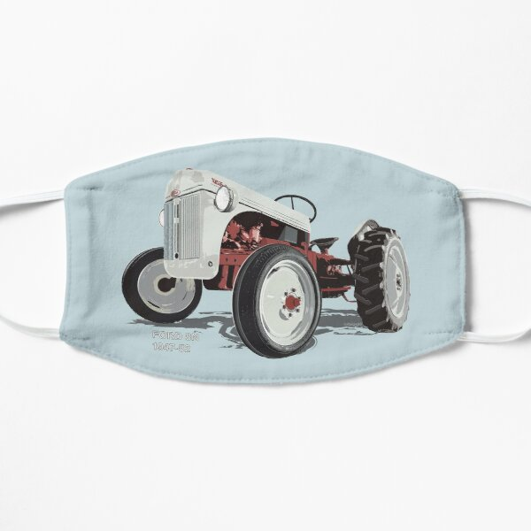 Old Redbelly, Ford8N – north America's best selling tractor Mask