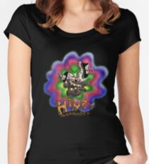 Henry Marmoset FREAK OUT Women's Fitted Scoop T-Shirt