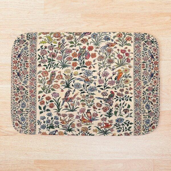 Vintage Antique Persian Carpet Bath Mat