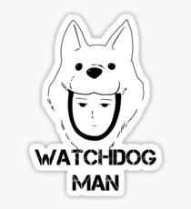Watchdog Man 1 Sticker