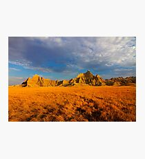 Sunrise over Badlands National Park .6 Photographic Print