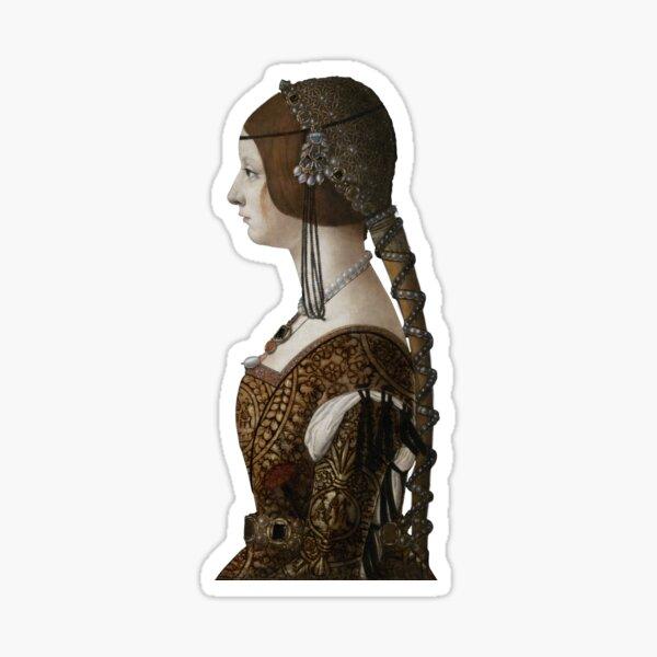 Bianca Maria Sforza Sticker