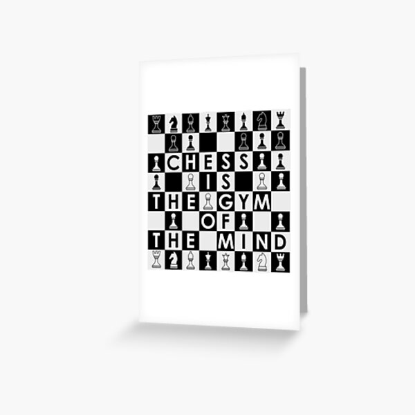 Chess Quote 3 Greeting Card